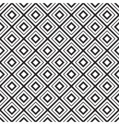 geometric seamless diamonds pattern vector image