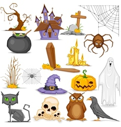 Halloween Element vector image