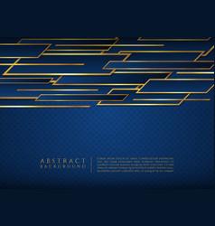 Square wave shape overlap layer design luxury vector