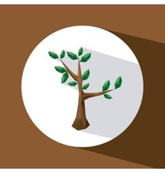 tree icon design vector image