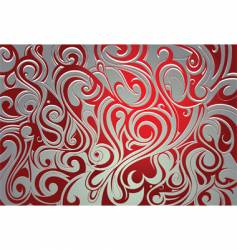 tribal decorative background vector image