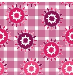 Seamless background pattern for cushion vector