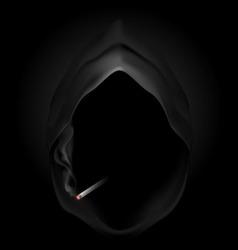 smoking kills Skull death 04 vector image