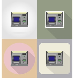 business and finance flat icons 05 vector image