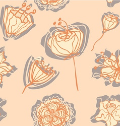 FlowersWithShadow vector image