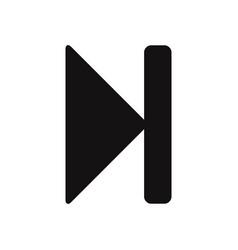 forward rewind icon vector image