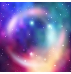 Galaxy background abstract colorful vector