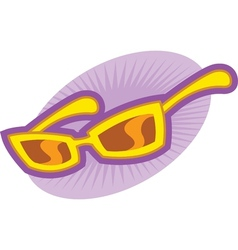Girls Sunglasses vector image