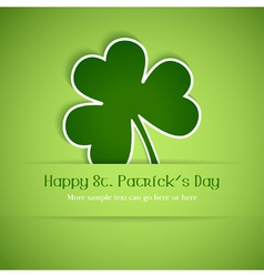 happy st patricks vector image