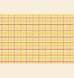 paint gingham watercolor seamless striped yellow vector image