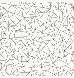 Poly monochrome repetitive structure vector