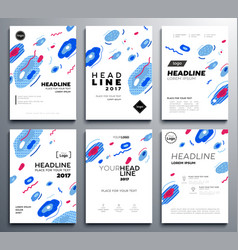 Presentation booklet covers - template vector