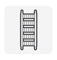 scaffolding part icon vector image