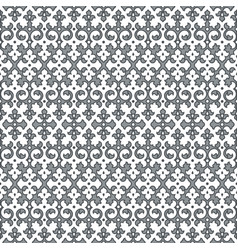 seamless pattern back curl decor vector image