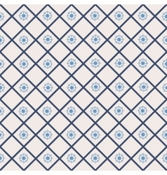 Seamless pattern with cross lines steering wheel vector image