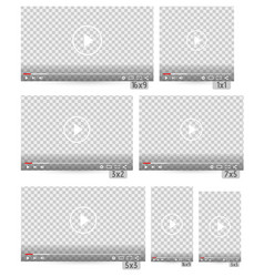 video frames vector image