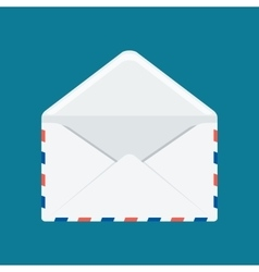 white envelope image vector image
