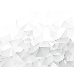 wrinkled paper geometric white gray pattern vector image