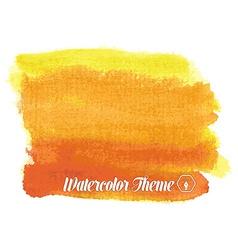 Watercolor theme vector image vector image