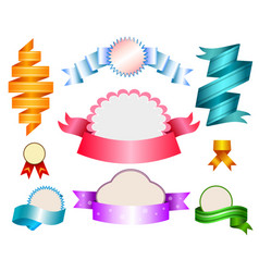 cute realistic baby templates and banners vector image