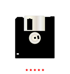 floppy disk it is icon vector image vector image