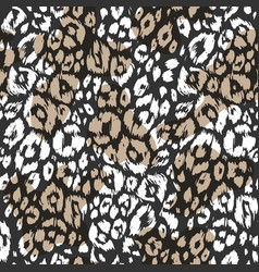abstract textured animal pattern vector image