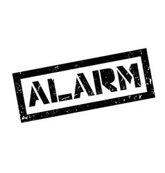 Alarm rubber stamp vector