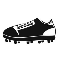 american football shoes icon simple style vector image
