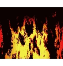 Fire texture vector image