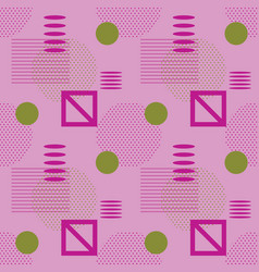 geometric abstract dotted seamless pattern vector image
