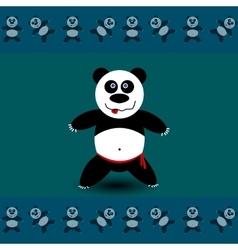 Panda sport A vector