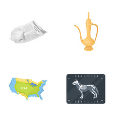 travel medicine history and other web icon in vector image