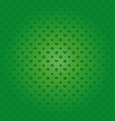 Background with card suits vector image vector image