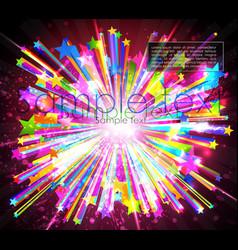 Abstract starburst vector