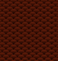 Chocolate blobs abstract background vector image vector image
