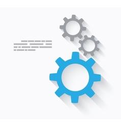 Tech concept vector image vector image