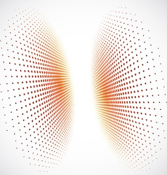 3d Halftone Background vector image vector image