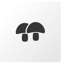 acorn icon symbol premium quality isolated vector image