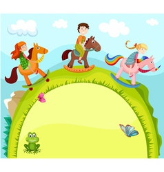 children card vector image vector image