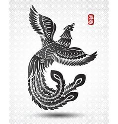 Chinese phoenix3 vector