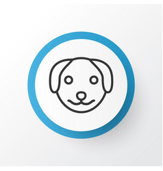 Dog icon symbol premium quality isolated puppy vector