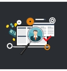 Learning Training to Make your Career Progress vector