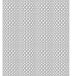 seamless texture white geometric patterned vector image