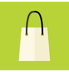 Shopping Pack Flat Icon vector