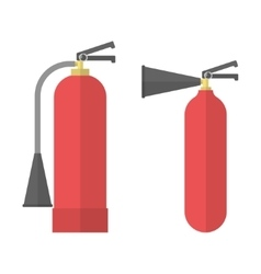 Two fire Extinguishers vector image