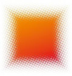 halftone square vector image vector image