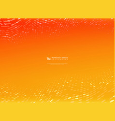 abstract gradient orange and yellow color vector image