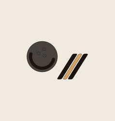 Bowling ball icon stock vector