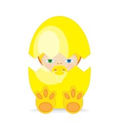 Easter Baby BEGG vector