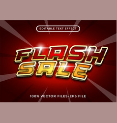 editable text effect sale premium vector image